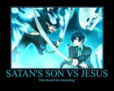 Memy z anime ✔️ - [Ao no exorcist] Blue Exorcist Funny, Blue Exorcist Anime, Ao No Exorcist, Blue Exorcist Cosplay, Fandom Crossover, Anime Crossover, Hello Memes, Funny Instagram Memes, Arte Online