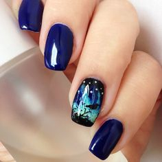 My take on northern lights. This is @opinailsuk 'My Umpires Come Out At Night' stamped over with @moyou_london 'mother Nature Collection- 14'. #nailspiration #nails2inspire #nailstagram #instanails #nailsart #nailswag #nailsporn #dailynail #bbloggers #instanailsninja #nailsofinstagram #notd #nailitdaily #nailpolishaddict #manicure #staypolished #nailartoohlala #nsfff #paznokcie #unas #manicura #northernlights #moyoulondon #stamping #norway #opiobsessed