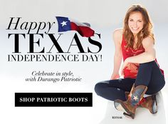 Check out these Texas Flag Boots! RD3446 - $139.99