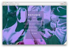 Raw Color, Syrian Refugees, Storytelling, Digital, Board, Planks