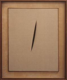 Lucio Fontana, 'Spatial Concept 'Waiting'' 1960