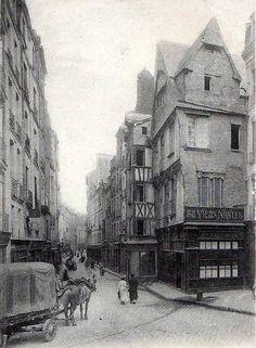 Nantes-rue de la Juiverie