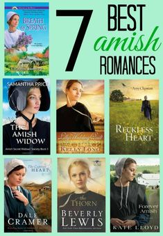 Looking for a clean romance for Valentine's Day? Here are my favorite Amish romances #EntertainmentHOP