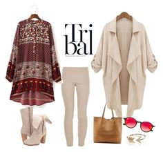 """""""#RealtorChic Tribal"""" by templefidelis on Polyvore featuring The Row, UGG, Sole Society, Ray-Ban, EF Collection and RealtorChic"""