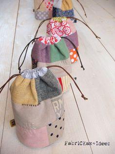 patchwork bags - fabrickaz+idees