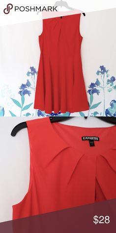 NWOT Fit and Flare Summer Dress Beautiful fit and flare summer summer dress from Express. NWOT! Express Dresses