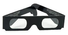 Chromadepth 3D Glasses in Black Paper Frames-Pack of 5