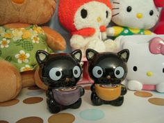 Chococat salt and pepper shakers.  I'm looking for these like crazy!