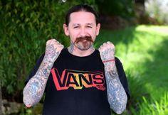 Chris Nunez Ink Master American tattoo artist from Chris Nunez Tattoos, Chris Masters, American Tattoos, Ink Master, Judges, Tattoo Artists, Woman, Mens Tops, Fashion