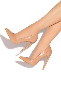 Lola Shoetique - Coquette - Nude, $33.99 (http://www.lolashoetique.com/coquette-nude/)