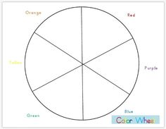 Colour Wheel - see In the Classroom for more....