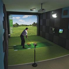virtual golf room - Google Search