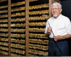 1975- The PING Gold Putter Vault is created to recognize PING putter wins by tour pros. For every tour win with a PING putter, two gold-plated replicas of the winning model are made. One is given to the tournament champion, the other is placed in the vault.