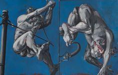 velickovic - Deux états du saut, 1984