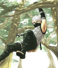 Kakashi - can he get any sexier?!?!?!