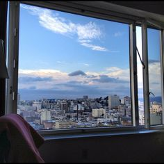 A room with a view of San Francisco