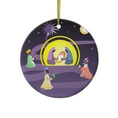 Snowflake Christmas Ornament from http://www.zazzle.com/christmas+ ...