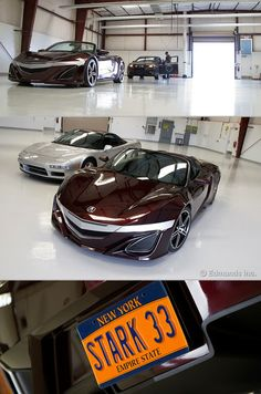 """NSX roadster from Marvel's upcoming """"The Avengers"""" movie."""