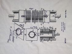 Embroidered loom part drawing