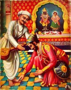 chhatrapati shivaji & sant tukaram