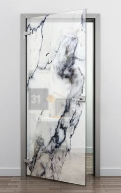 Glass printing offers great opportunities in modern architecture and design. Glass printing offers great opportunities in modern architecture and design. Interior Door, Interior And Exterior, Interior Design, Glass Printing, Modern Glass, Windows And Doors, Interior Inspiration, Interior Architecture, House Design