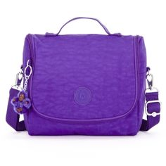 Kichirou Lunch Bag in Neon Purple #Kipling