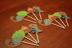 Dinosaur Cupcake Topper Decoration Birthday Party by PaperMeUp, $12.00