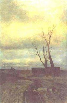"""""""Autumn"""" c.1877 - Isaac Levitan"""