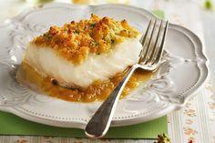 Recetas navideñas deliciosas listas en menos de 30 minutos Fish Recipes, Seafood Recipes, Xmas Food, Mozzarella, Lasagna, Camembert Cheese, Food And Drink, Breakfast, Ethnic Recipes
