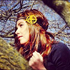 Hunger Games inspired headband