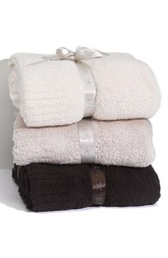 Barefoot Dreams® Cozy Chic Throw available at #Nordstrom Sale: $87.90 After Sale: $132.00 	Item #128771