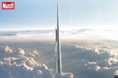 Ce sera la première structure réalisée par l'homme à dépasser les 1000mètres de hauteur. Après avoir conçu Burj Khalifa (828mètres) à Dubai, l'...