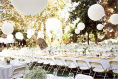 Decoración con globos - bodas