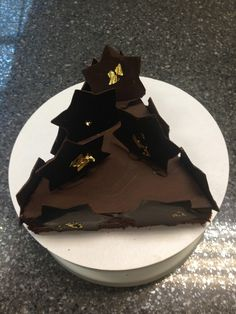 #Chocolate & Grand Marnier torte #Christmas tree, ideal for your #Dessert table at your #wedding or #CivilPartnership ...