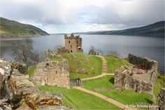 Castillo de Urquhart, Lago Ness, Escocia.