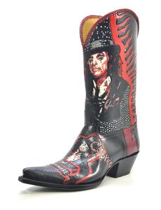 Nightmare - Handmade Cowboy Boots from Liberty Boot Co Custom Cowboy Boots, Western Shoes, Cowboy And Cowgirl, Cowgirl Boots, Riding Boots, Western Wear, Liberty Boots, Boot Scootin Boogie, Metal Fashion