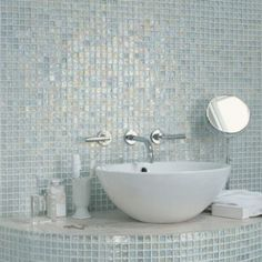 Freshwater Pearl - Metallic & Iridescent - Shop by colour - Wall & Floor Tiles | Fired Earth