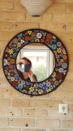 Best 12 Untitled | Flickr – Photo Sharing! – SkillOfKing.Com Mosaic Garden Art, Mosaic Tile Art, Mirror Mosaic, Mosaic Diy, Mosaic Crafts, Stone Mosaic, Mosaic Glass, Mirror Crafts, Mosaic Pictures