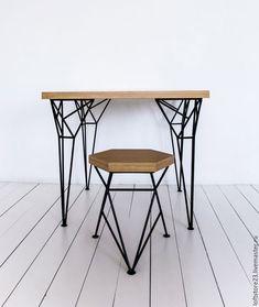 Купить Стол APOLLO - комбинированный, табурет spike, стол apollo, стол, стол из дерева