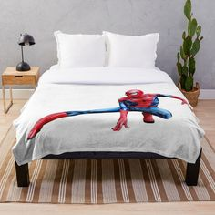 Spiderman Action Figure, Canvas Prints, Art Prints, Action Figures, My Arts, Blanket, Printed, Awesome, Furniture