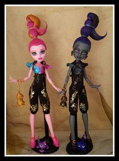 Monster High Custom repaint Whisp Gigi 13 Wünsche, 13 wishes by kaki2501, via Flickr