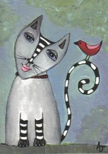 I Gatti nellArte
