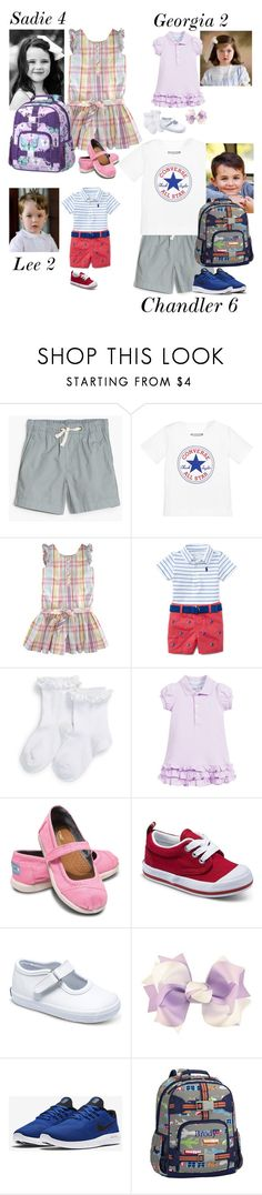 """""""Flying to Charleston for Spring Break"""" by my-preppy-family ❤ liked on Polyvore featuring J.Crew, Converse, Ralph Lauren, TOMS, Keds, Champion, NIKE and thegarcias"""