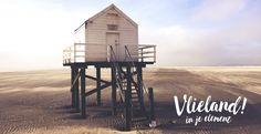 Vlieland, in je element | Online magazine over Vlieland Vignettes, Wind Turbine, Beach, Places, Seaside, Lugares