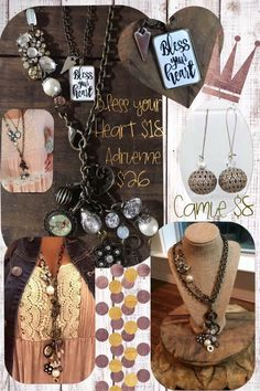Plunder Design has some amazing jewelry.  jeweljunkiedesigns.com