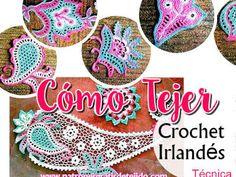 Ideas for crochet blusas patrones tejido Freeform Crochet, Crochet Motif, Free Crochet, Knit Crochet, Crochet Patterns, Crochet Gratis, Irish Crochet Tutorial, Point Lace, Irish Lace