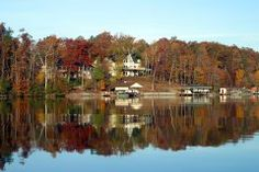 """Smith Mountain Lake is Virginia's most popular lake and is known as the """"Jewel of the Blue Ridge Mountains."""""""