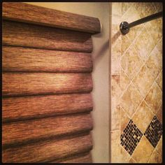 Hunter Douglas Vignette in bathroom