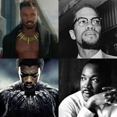 Did anyone else notice this parallel in Black Panther?