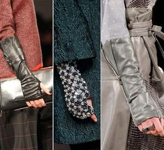 Fall/ Winter 2014-2015 Accessory Trends: Mitts  #gloves #accessories